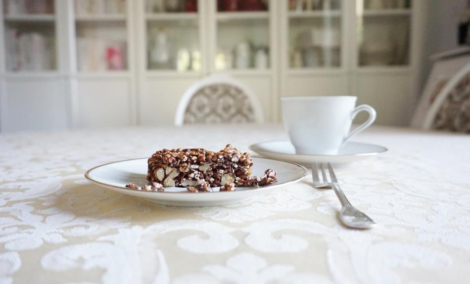 czekoladowe batoniki owsiane, zdrowe słodycze, jedzenie dla dziecka, proste gotowanie, przepis na, kuchnia - haart.pl blog diy zrób to sam 4