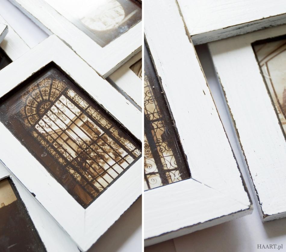 postarzanie drewnianych ram - haart.pl blog diy zrób to sam 5