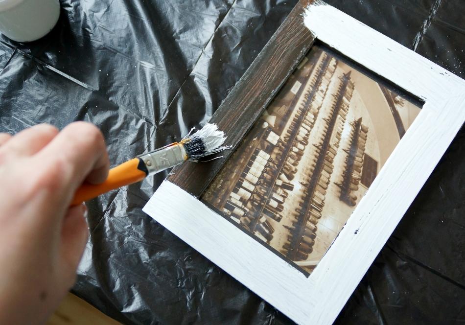 postarzanie drewnianych ram - haart.pl blog diy zrób to sam 3