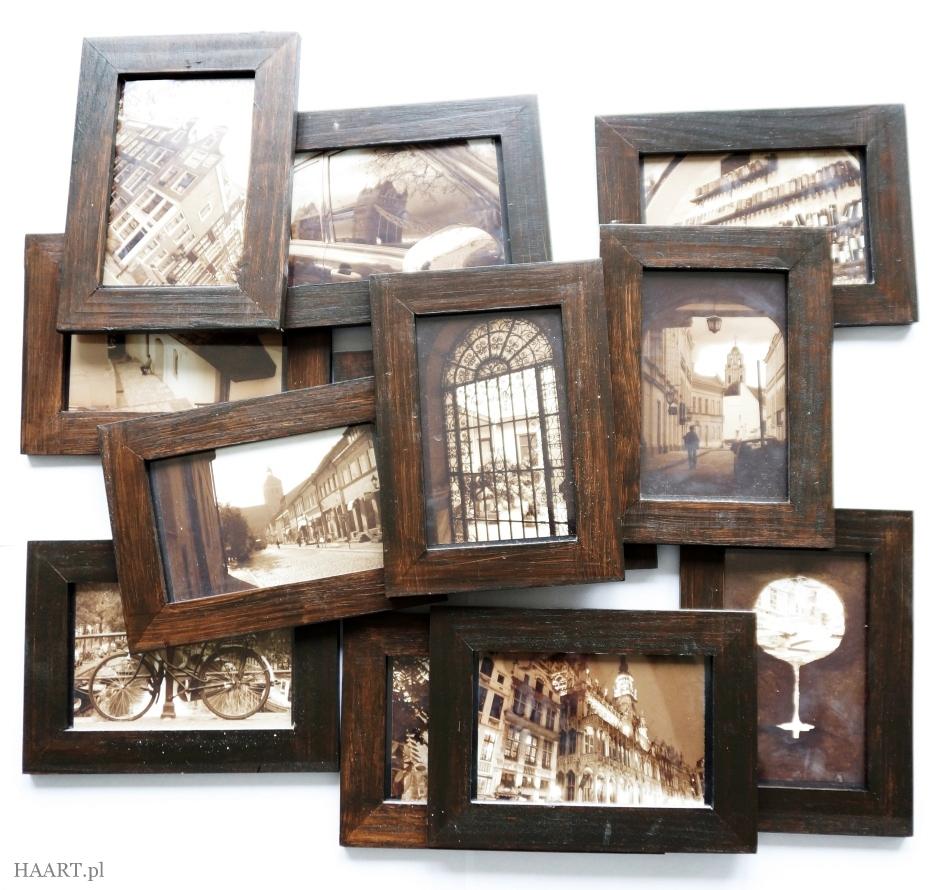 postarzanie drewnianych ram - haart.pl blog diy zrób to sam 1