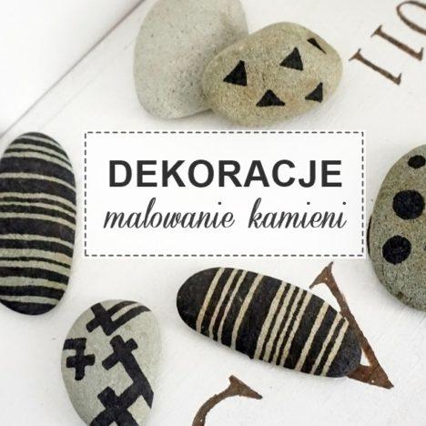 dekoracja z kamieni