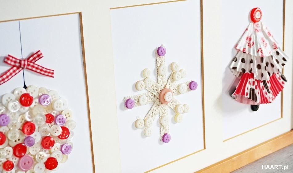 Świąteczne dekoracje pokoju, płatek śniegu rama samodzielnie, ozdoby na boże narodzenie wigilia - haart.pl blog diy zrób to sam