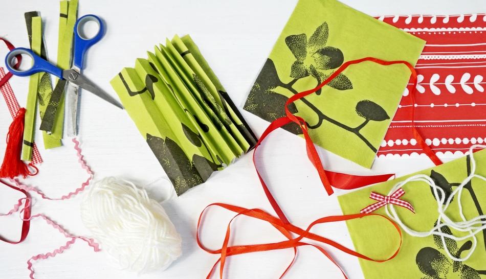 bożonarodzeniowa ozdoba diy, potrzebne materiały