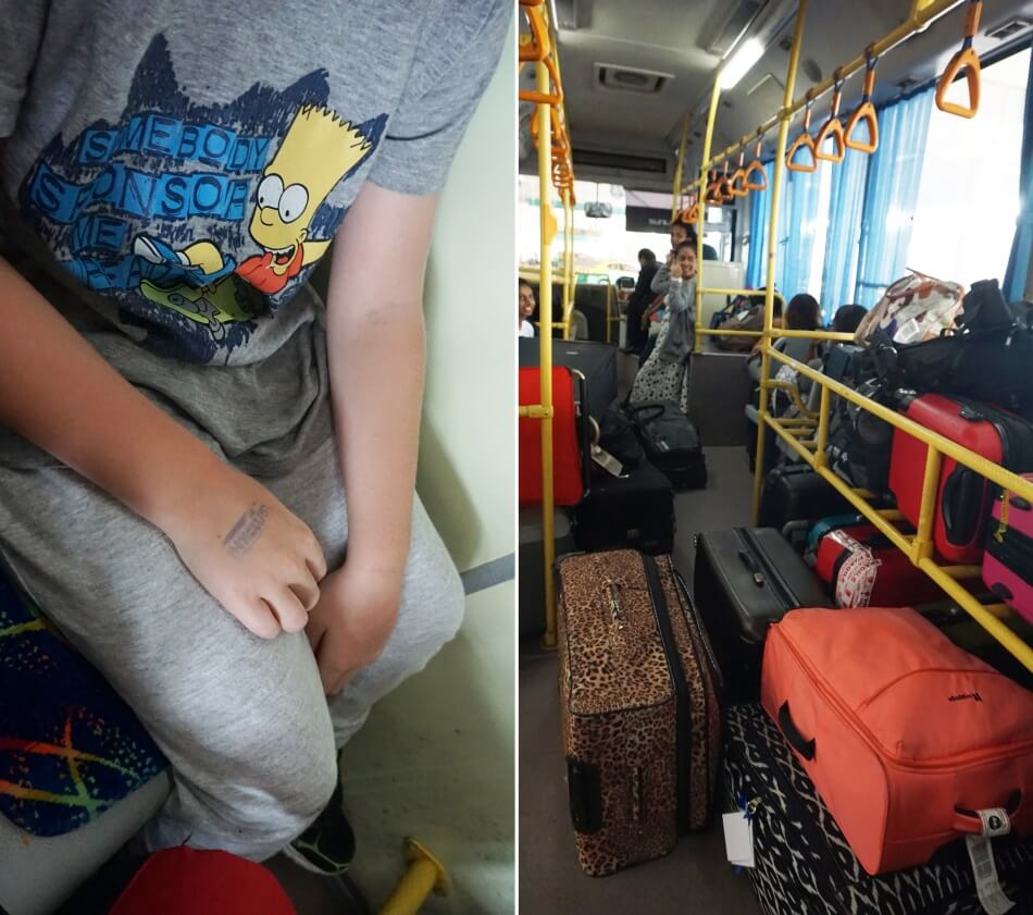 autobus transferowy bangkok suvarnabhumi don mueang