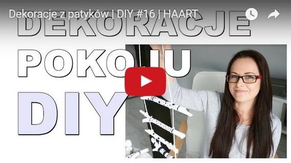 dekoracje z patyków film you tube - haart.pl blog diy zrób to sam 1