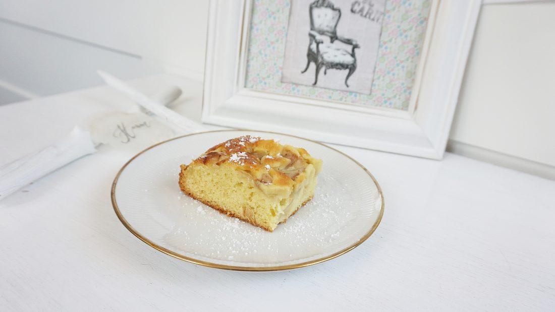 łatwe ciasto z gruszkami, prosta kuchnia, przepis na, jak zrobić ciasto, gruszka, owoce na słodko, jedzenie dla dzieci - haart.pl blog diy zrób to sam 2