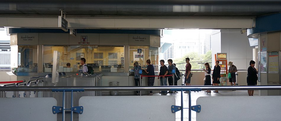 bangkok bts skytrain station ticket office biletomat - haart.pl blog diy zrób to sam