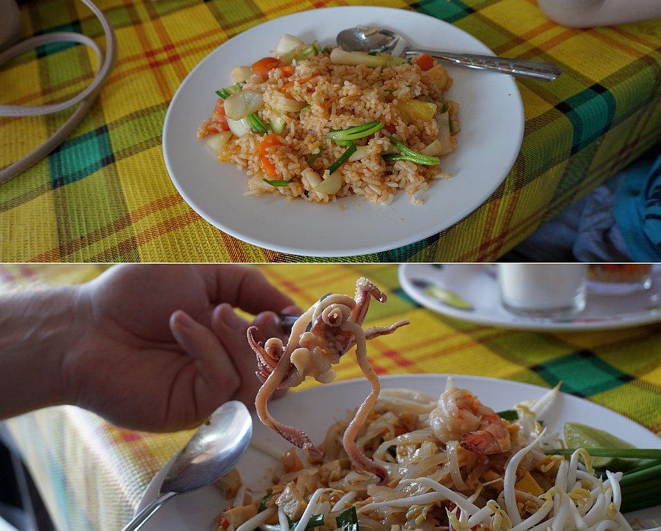 bangkok zabytki wat arun, leżący budda, pałac królewski jedzenie lunch pad thai - haart.pl blog diy zrób to sam 2