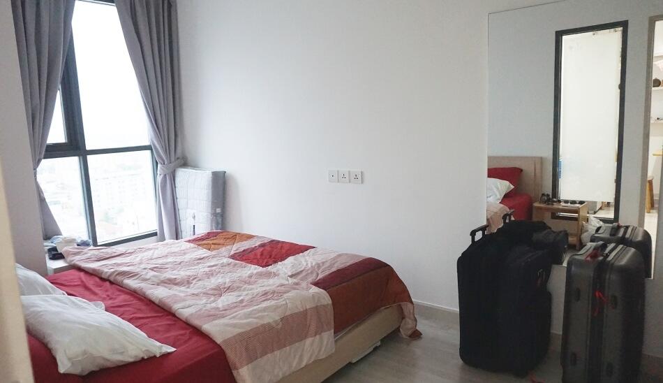 mieszkanie w bangkoku sypialnia