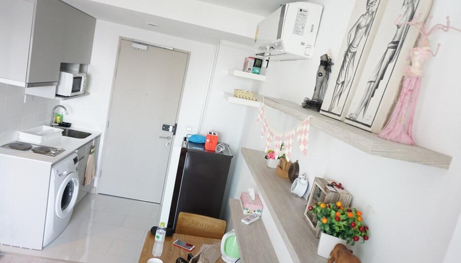 mieszkanie w bangkoku wynajem na wakacje kuchnia