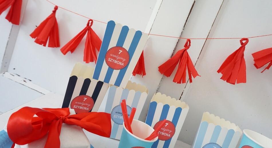 dekoracje urodzinowe dla dziecka, szablon do druku
