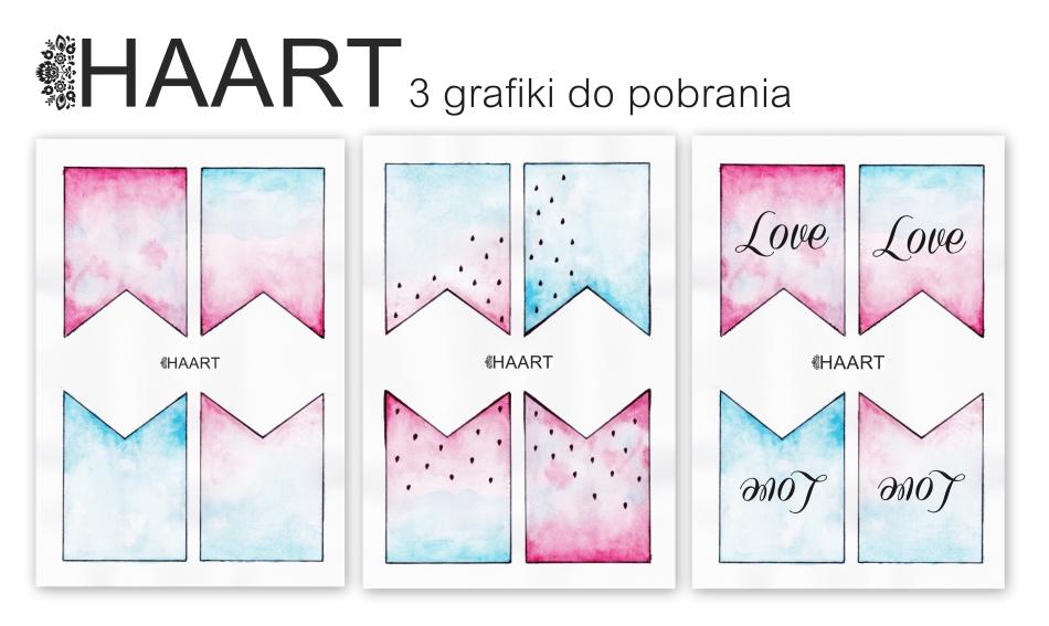 Girlanda do druku. 3 grafiki do pobrania. Pobierz bezpłatnie, jpg, jpeg. Instrukcja krok po kroku jak zrobić - haart.pl blog diy zrób to sam