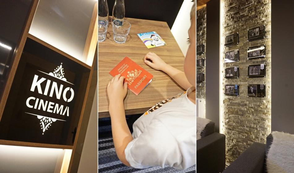 Bacowka radawa, sala kinowa, paszport dla dzieci, pokój w hotelu. HAART.pl blog diy