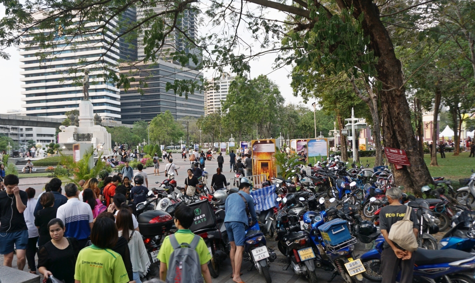 Bangkok zwiedzanie Lumpini Park HAART blog DIY