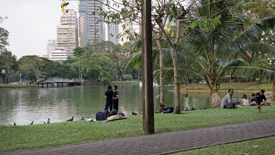 Bangkok zwiedzanie Lumpini Park HAART blog DIY 2