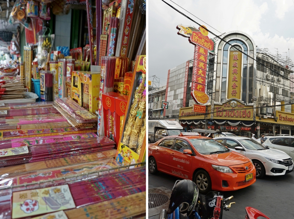 Chinatown Bangkok zwiedzanie HAART blog DIY