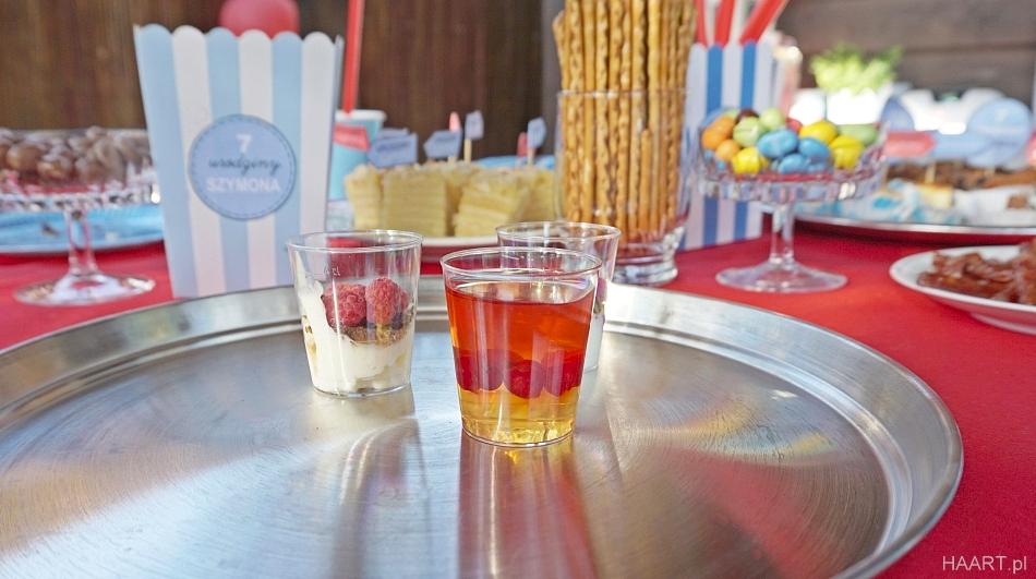 Deser na imprezę. Galaretka z porzeczkami i malinami. Deser z mascarpone. Urodziny. HAART.pl blog DIY