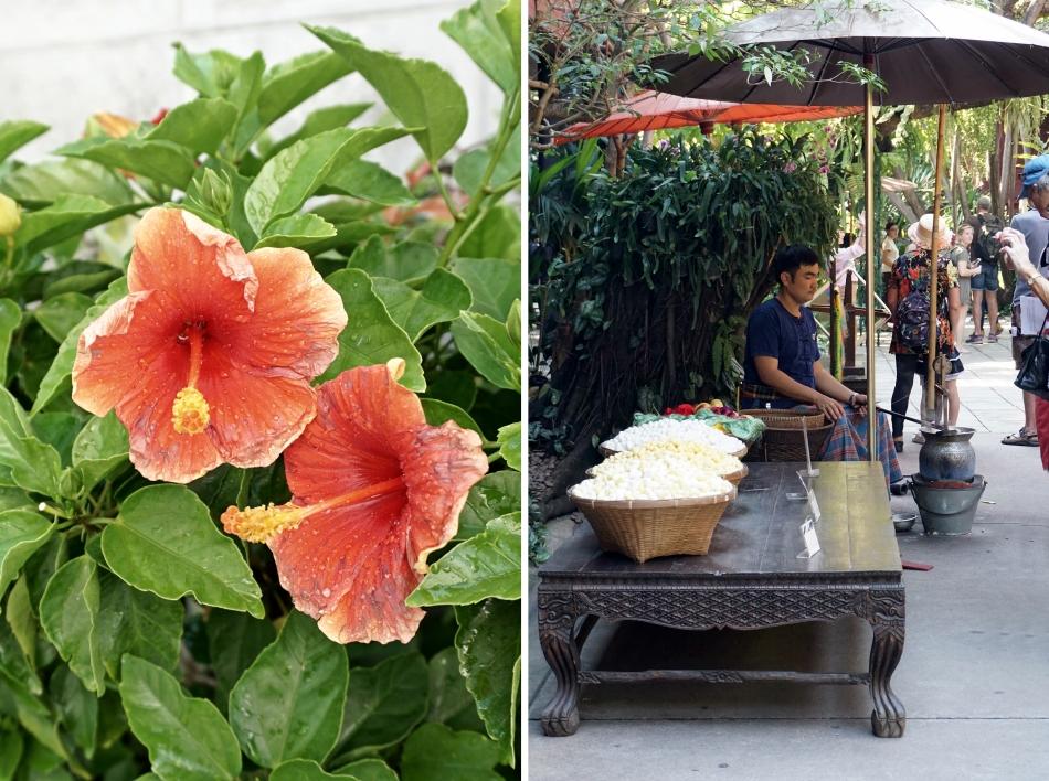 Bangkok atrakcje kwiatyTajska architektura HAART - blog DIY