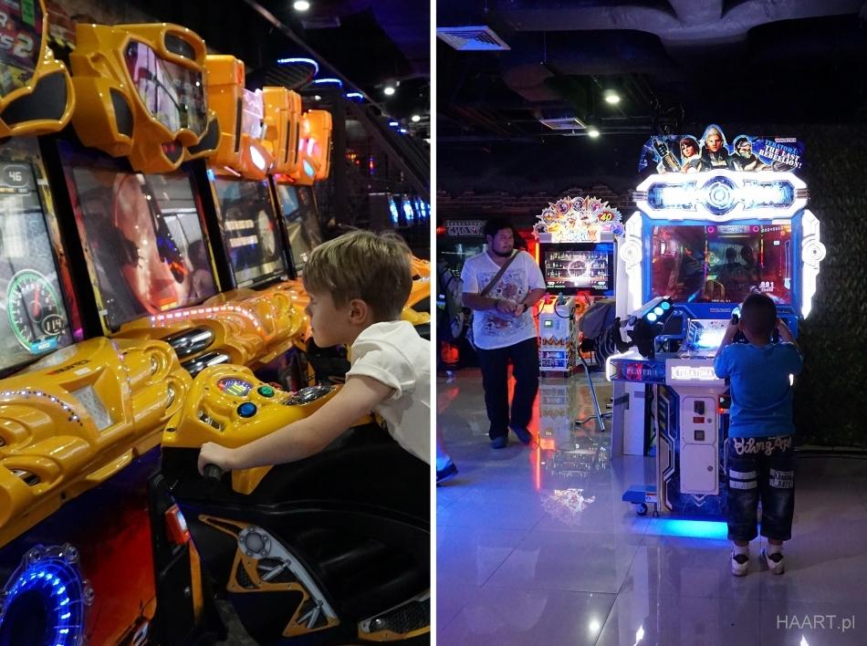 Bangkok atrakcje automaty do gry dzieci motor HAART.pl blog DIY