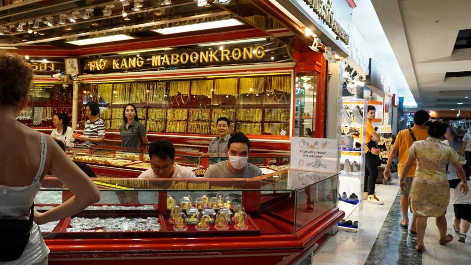 Bangkok atrakcje Mah Boon Krong jubiler HAART.pl blog diy