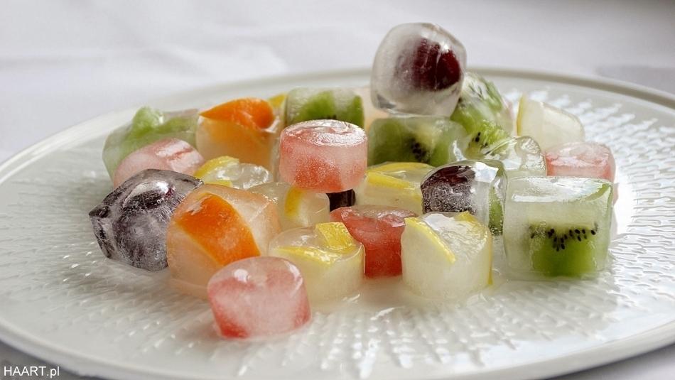 Kostki lodu z owocami. HAART.pl blog diy