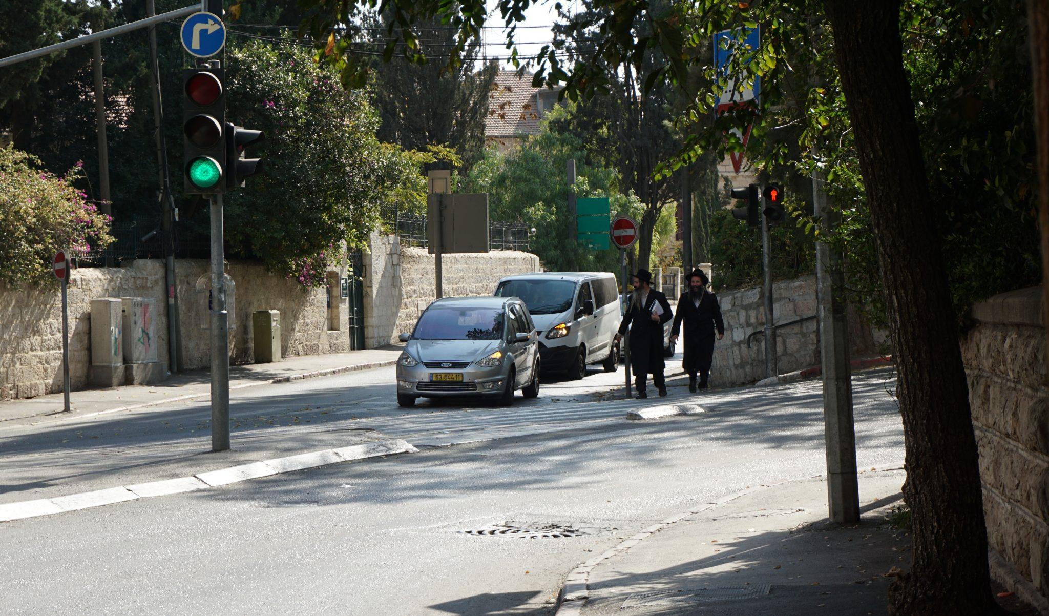 dzielnica ortodoksyjnych Żydów Mea Shearim