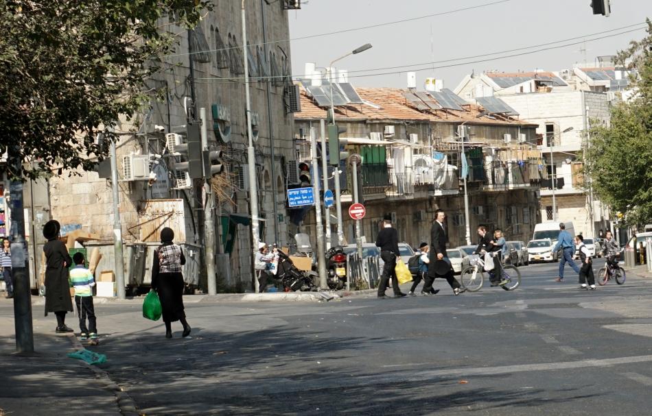 Jerozolima Dzielnica ortodoksyjnych Żydów