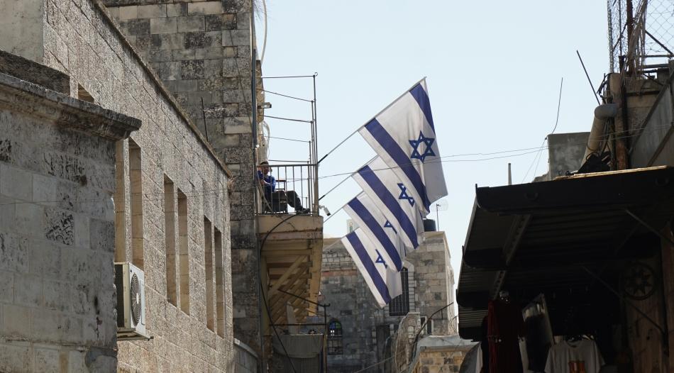 Jerozolima flaga Izraela