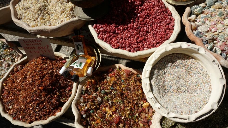 Jerozolima przyprawy na arabskim targu