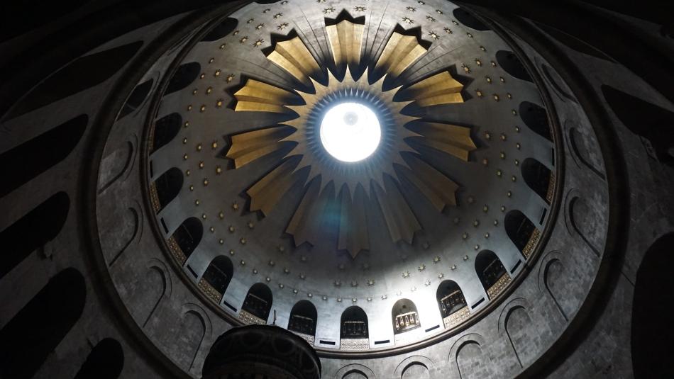 Kopuła w Bazylice Grobu Świętego
