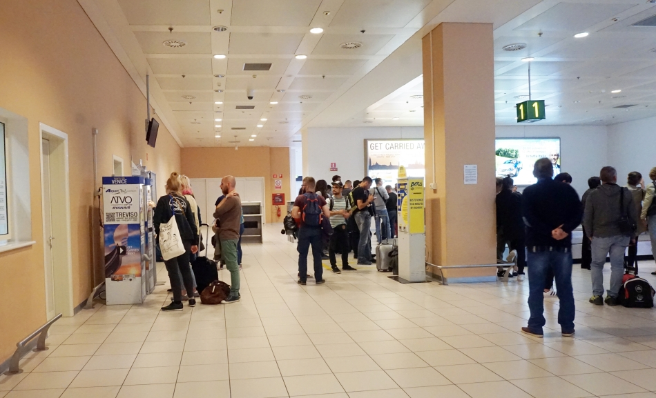 Wenecja lotnisko Treviso
