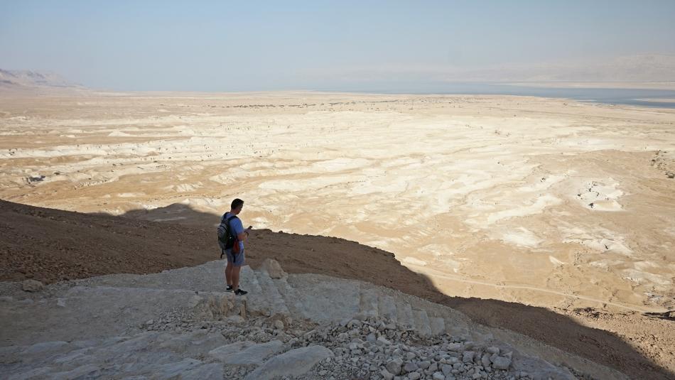 Masada piesza trasa do twierdzy
