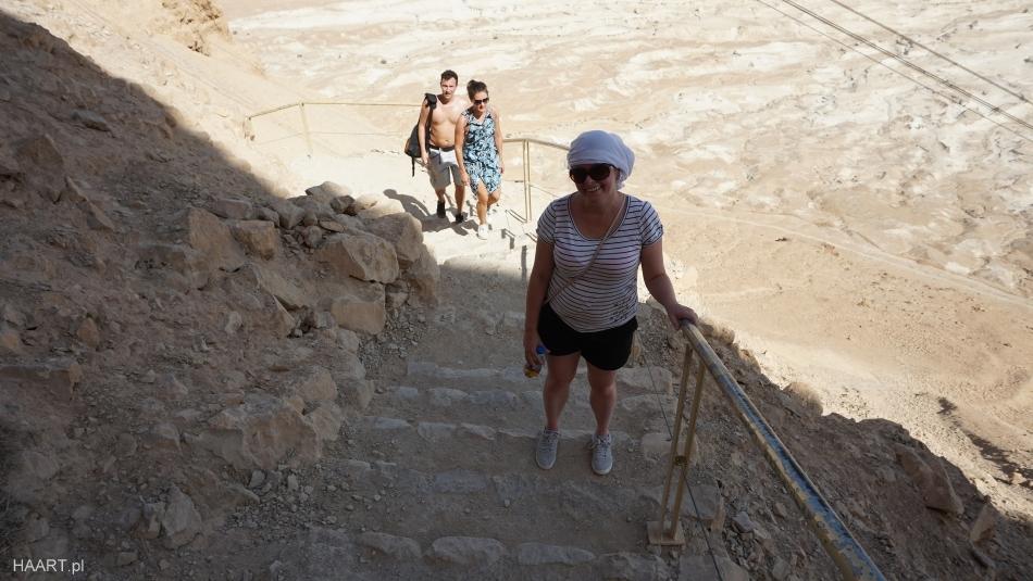 Masada piesza ścieżka
