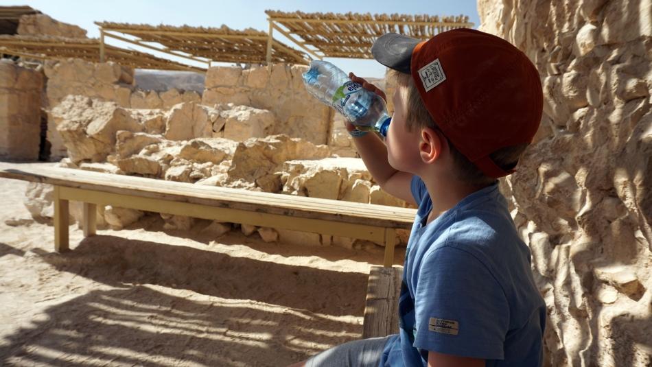 Masada Zwiedzanie pałacu zachodniego