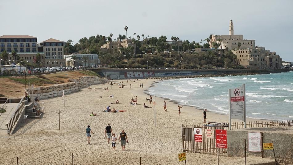 Bezpieczeństwo w Izraelu. Plaża Tel Aviv
