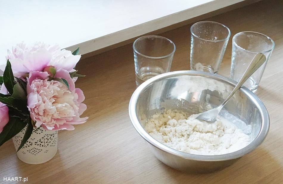 Dekoracje z masy solnej, wyrabianie ciasta przepis