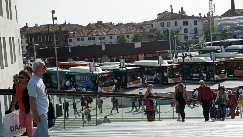 Wenecja Piazzale Roma autobusy