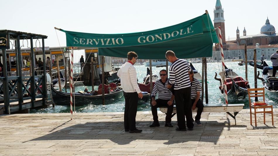 Wenecja gondolierzy