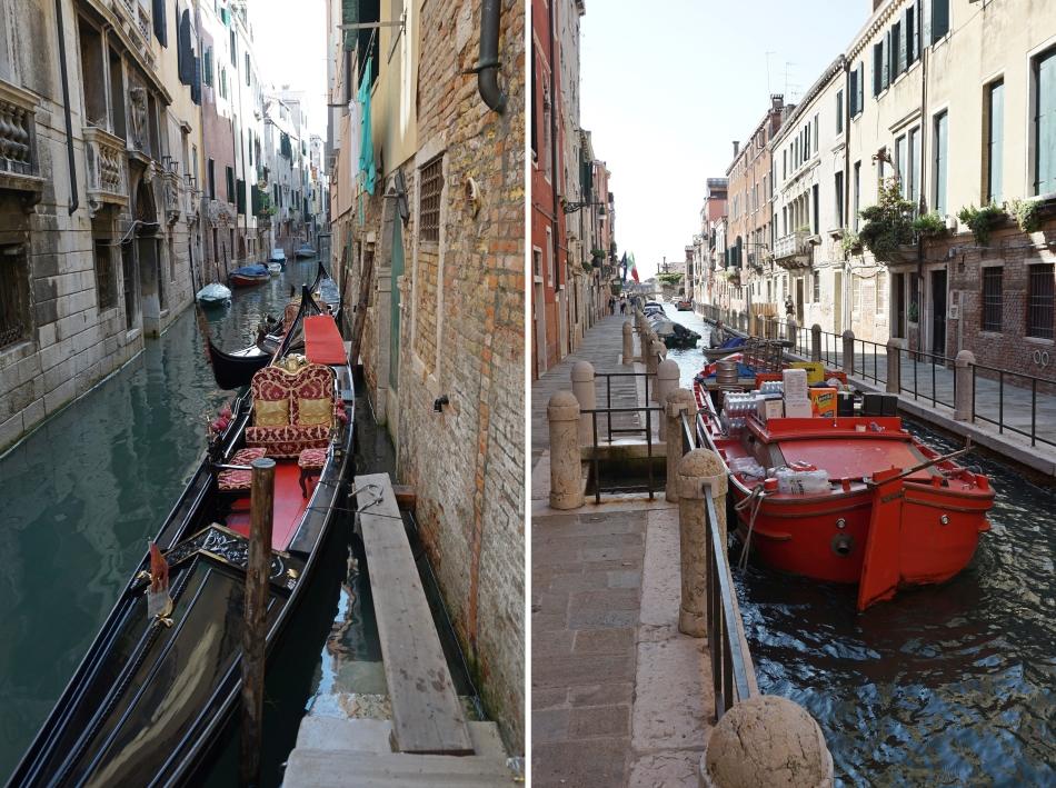 Wenecja wąskie kanały