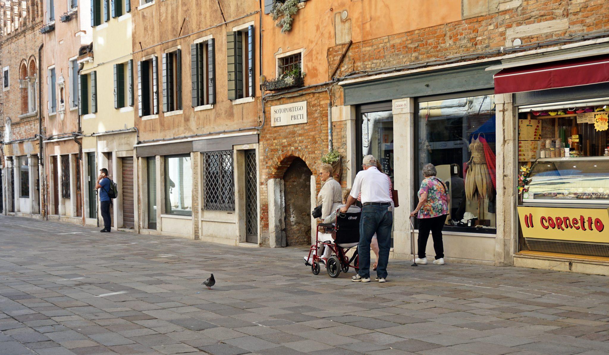 Wenecja dla niepełnosprawnych