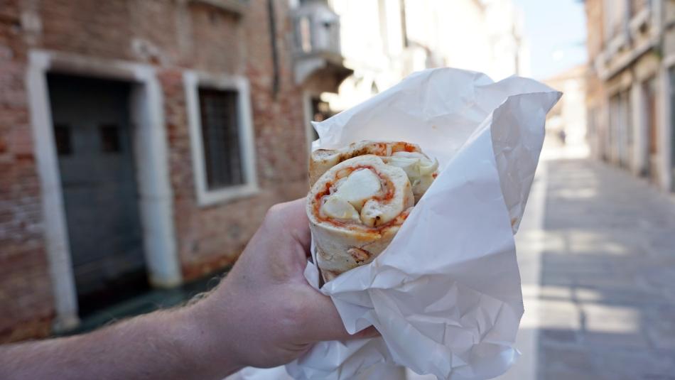 Wenecja pyszne jedzenie