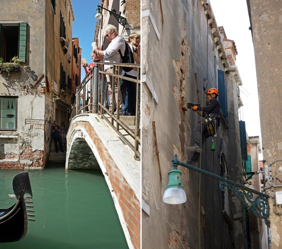 Wenecja remonty budynków