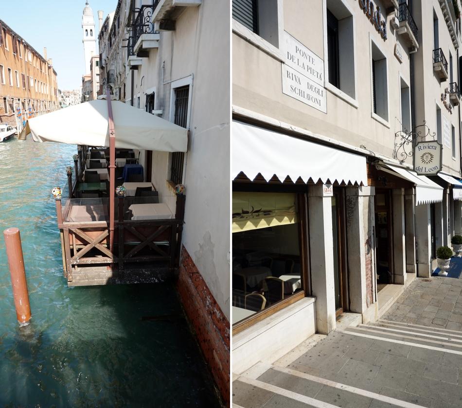 Wenecja restauracja z której wyproszono gości
