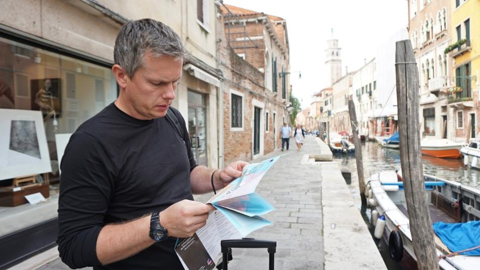 Wenecja zwiedzanie z mapą