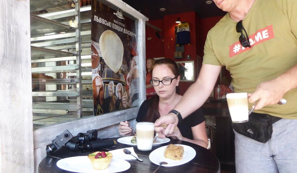 Kijów kawiarnia