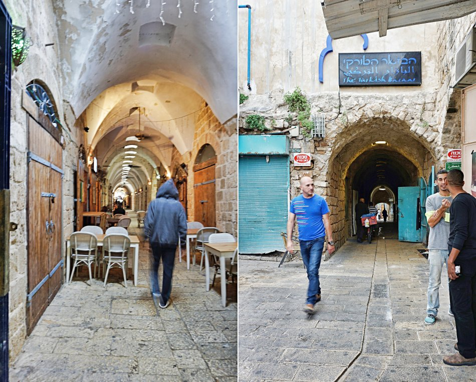 akka izrael biały targ stare miasto