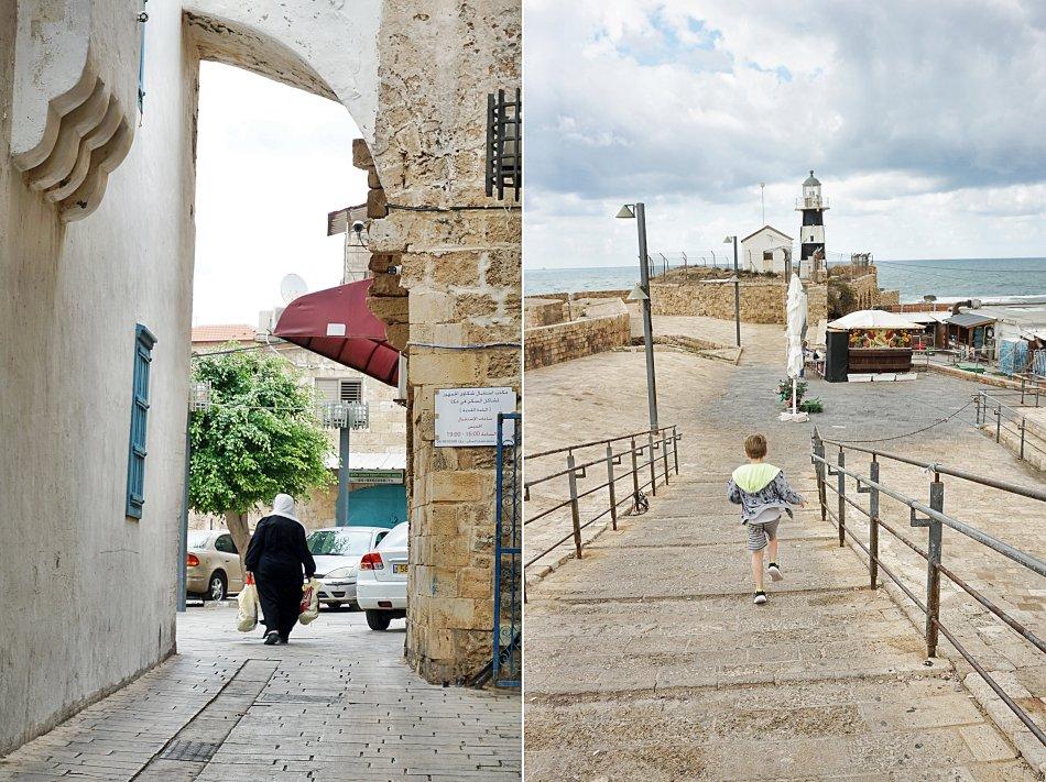 akka izrael uliczki latarnia morska