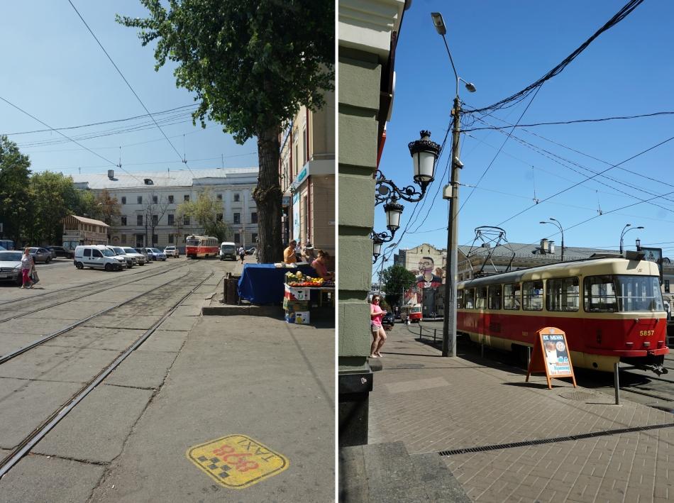 Kijów tramwaje