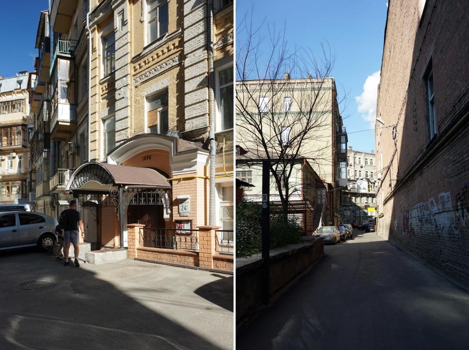 Kijów mieszkanie w starej kamienicy