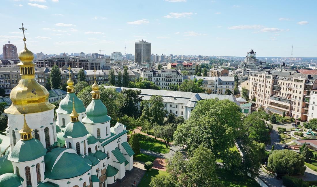 Kijów na Urkainie